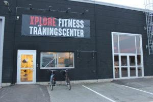 Ingången till Xplore Fitness